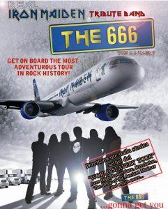 THE 666 Locandina
