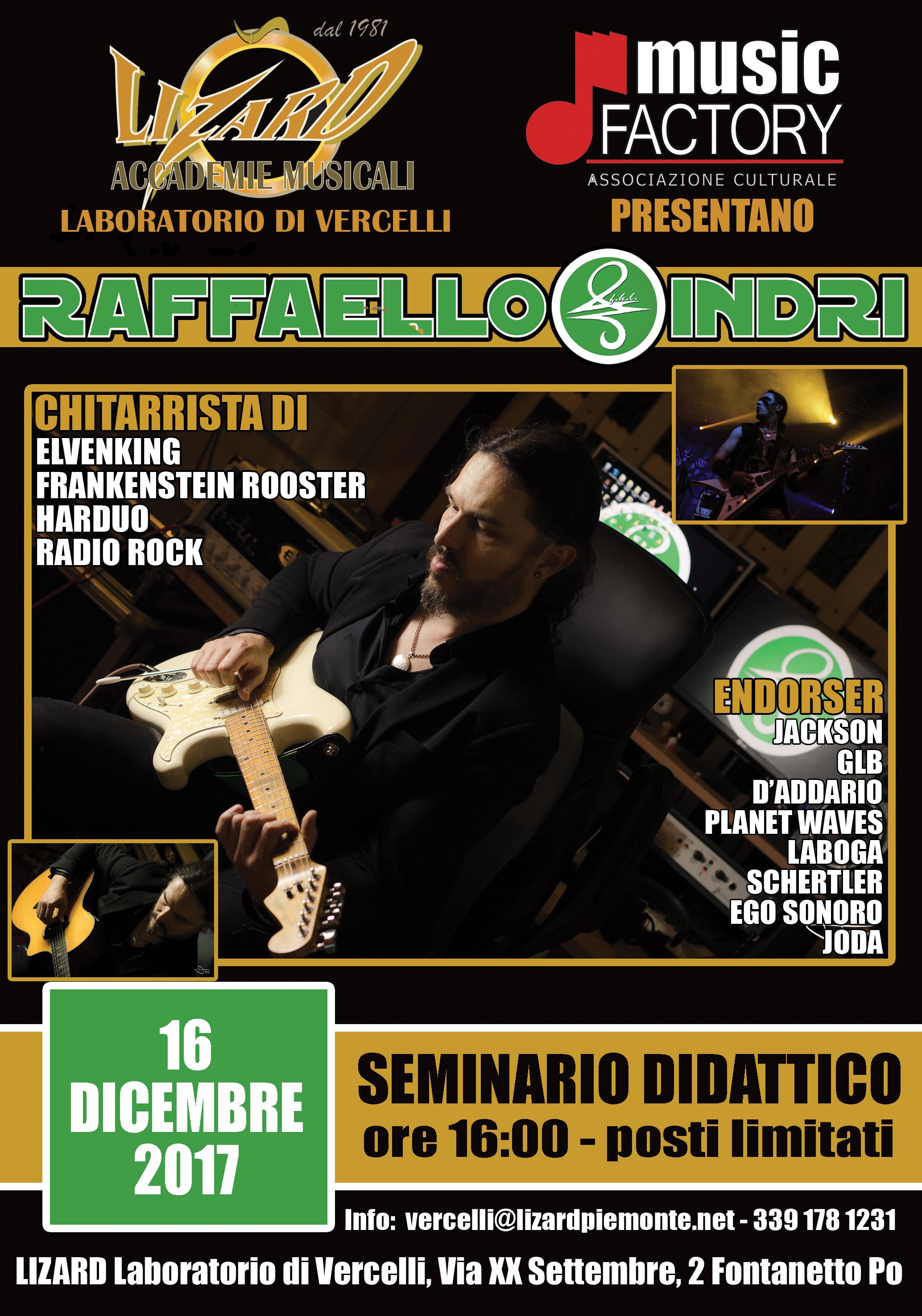 SEMINARIO DIDATTICO 16/12/2017 (Laboratorio Lizard Vercelli)