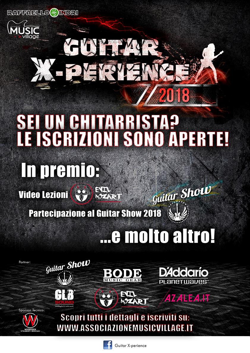 GUITAR X-PERIENCE 2018