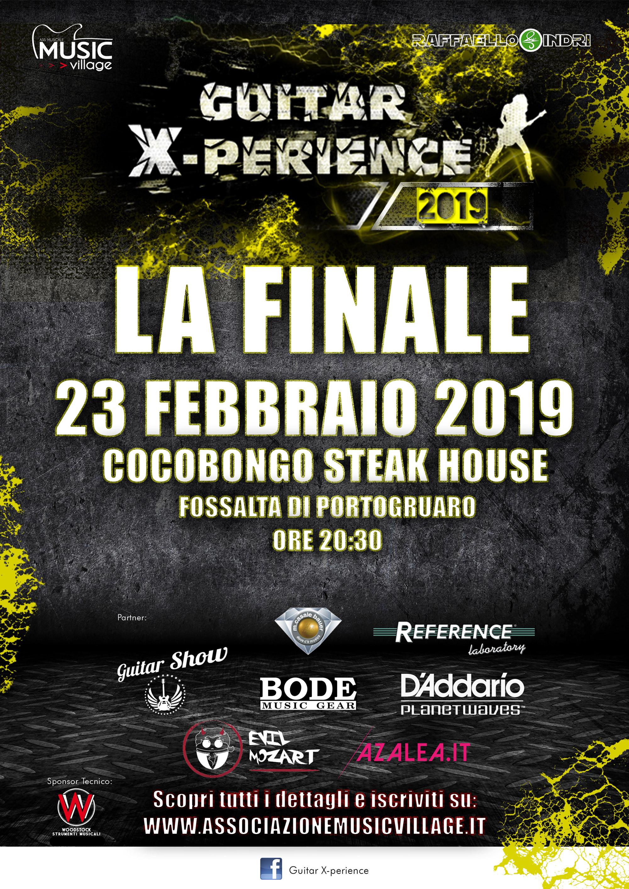 GUITAR X-PERIENCE 2019 LA FINALE