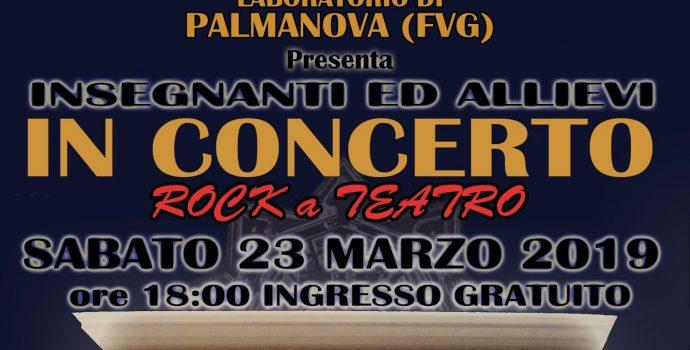 ROCK A TEATRO (Concerto insegnanti ed allievi Lizard Palmanova)
