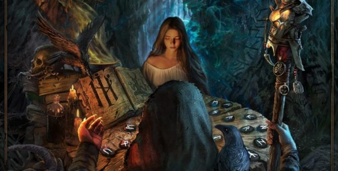 "ELVENKING ""Reader of the Runes – Divination"""