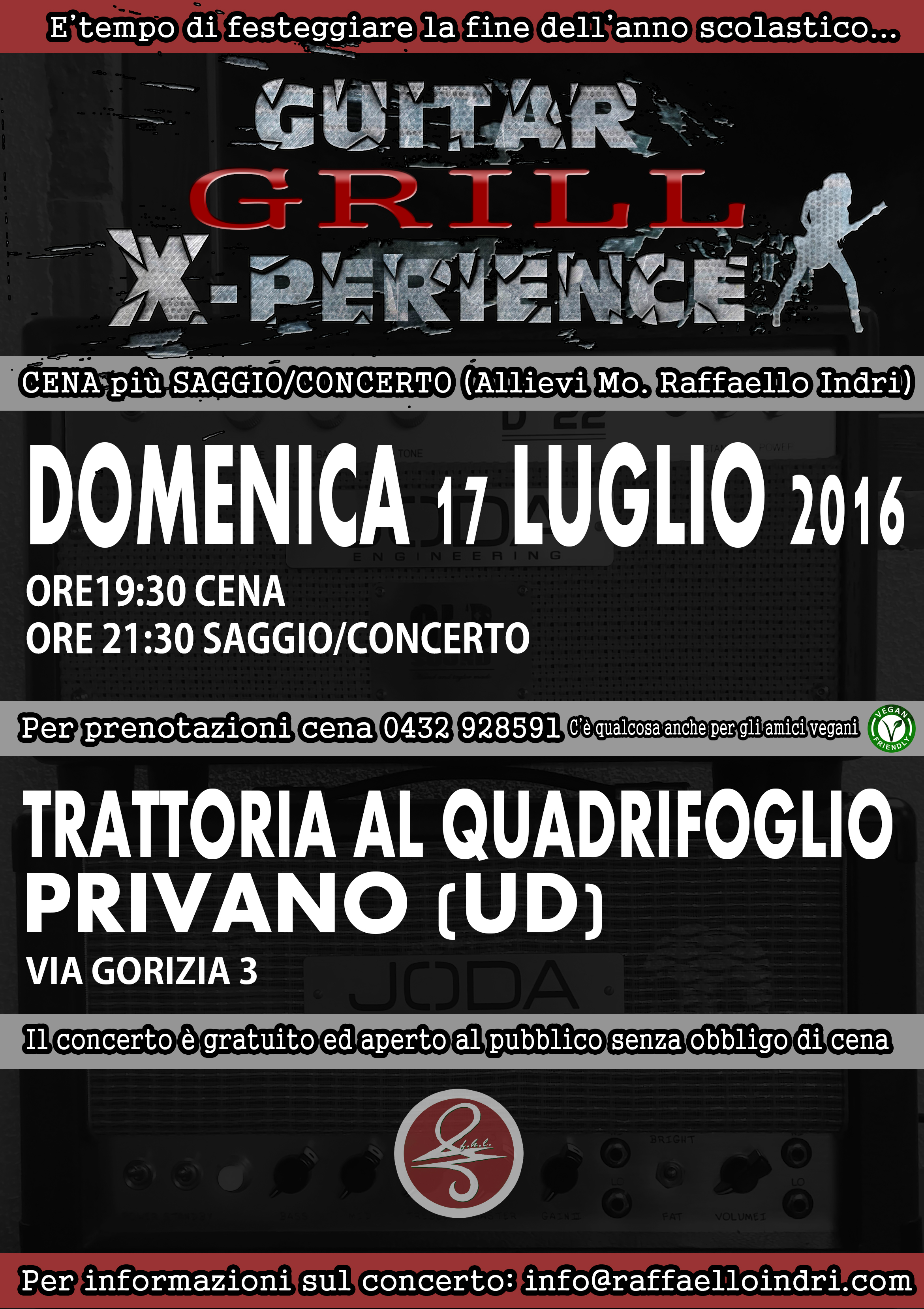 GUITAR GRILL X-PERIENCE 2016