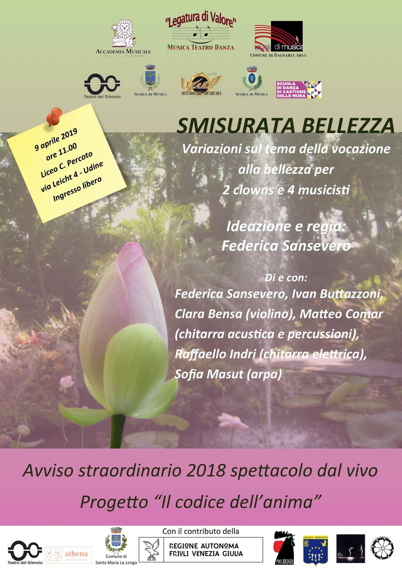 """4 Appuntamenti con la """"SMISURATA BELLEZZA"""""""
