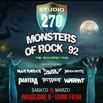 MONSTERS OF ROCK '92 (Le Belve Umene)