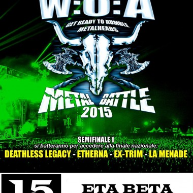 W:O:A METAL BATTLE 2015