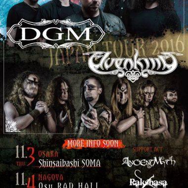 ELVENKING + DGM (Japan Tour)