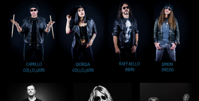 IT'sALIE sign with ROCK OF ANGELS RECORDS