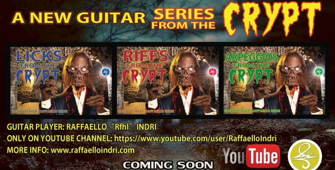 LICKS, RIFFS & ARPEGGIOS From The CRYPT